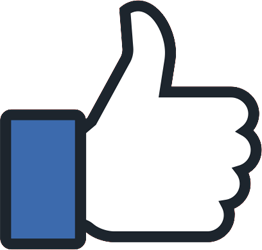 Facebook block thumb icon